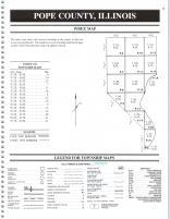 Index Map 1, Pope and Hardin Counties 2000